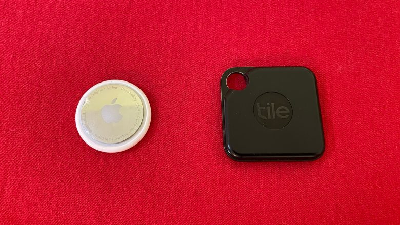 A comparison of Apple AirTag vs. Tile Pro: AirTag is small and sleek. But Tile Pro has the hole that almost every user will want.
