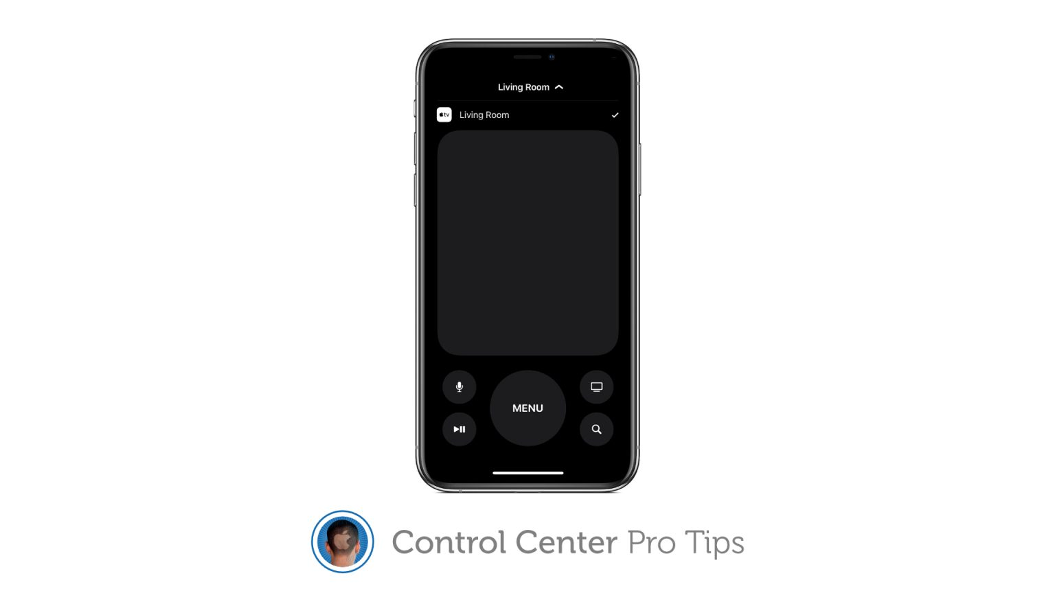 Control Apple TV with Control Center