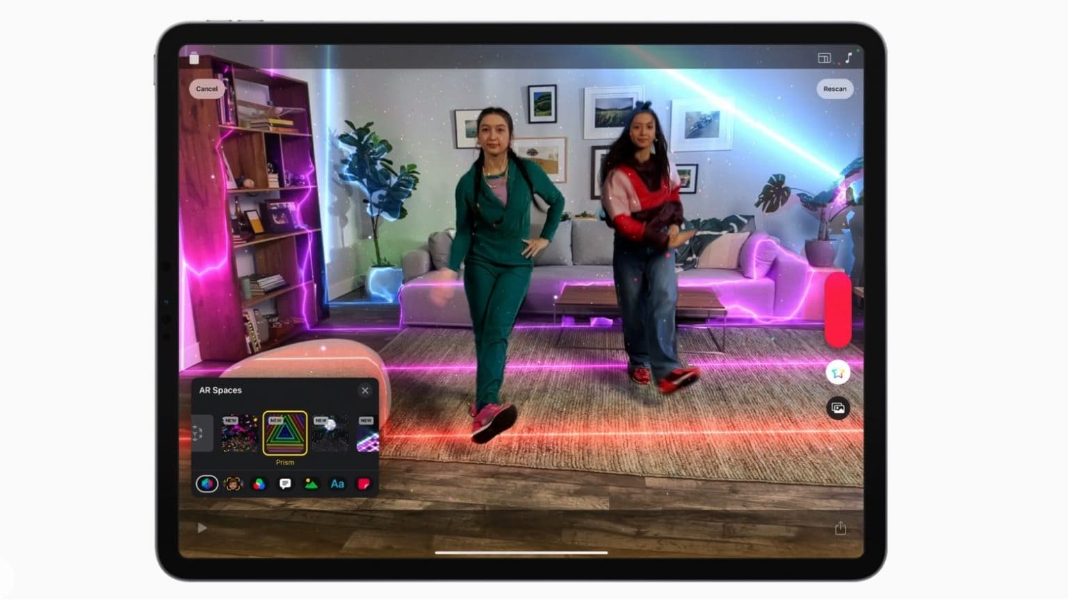 Apple Clips adds AR Spaces for augmented reality video recording