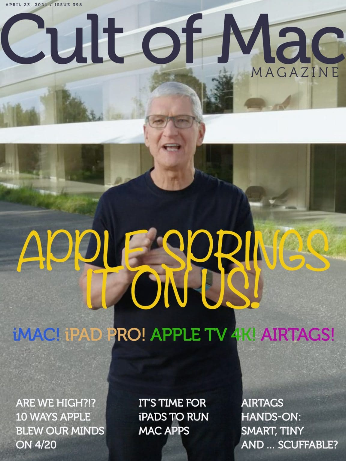 Apple Spring Loaded event: Full coverage in Cult of Mac Magazine.