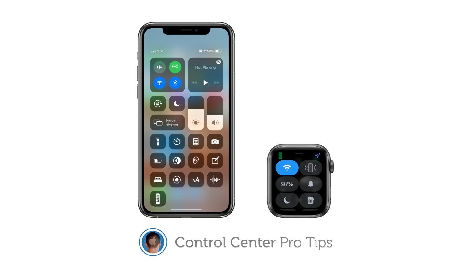 How to reorganize Control Center