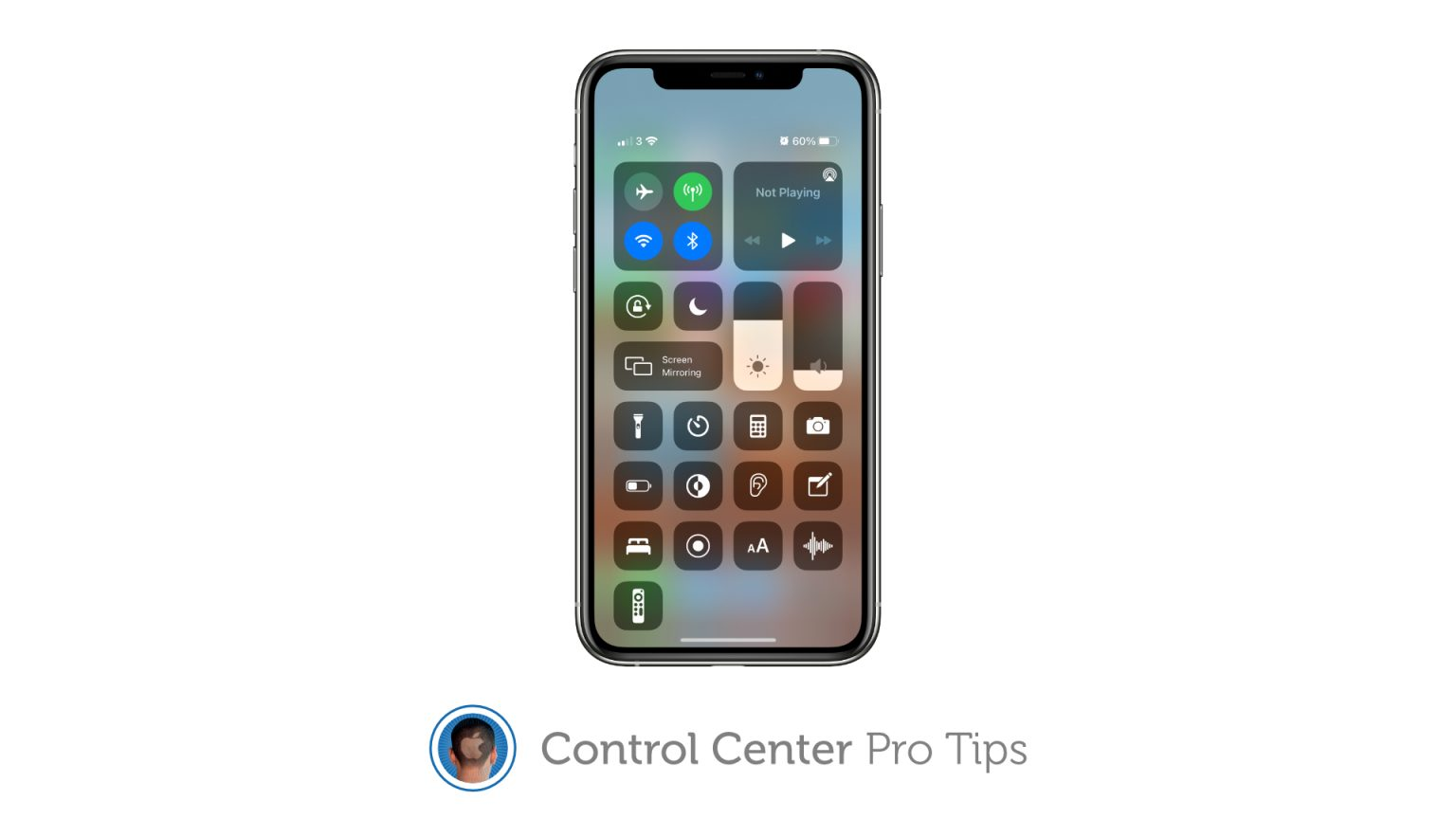 Disable lock screen access to Control Center on iPhone and iPad