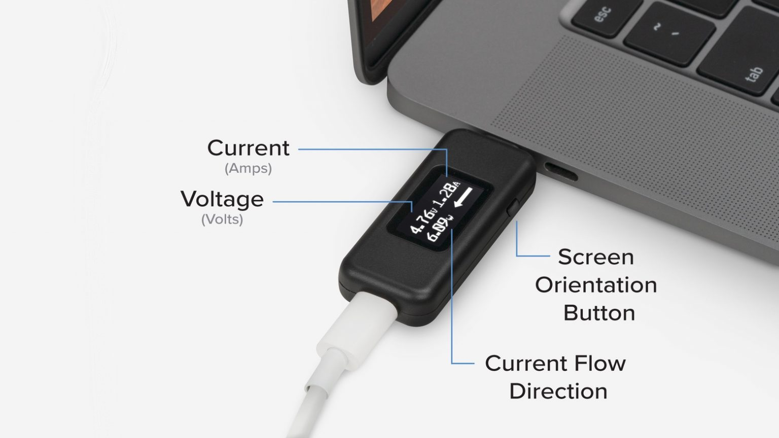Plugable USBC-Vameter diagnoses your charging woes