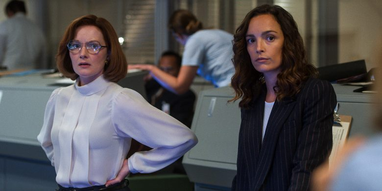 For All Mankind review: Wrenn Schmidt and Jodi Balfour face some tough decisions.