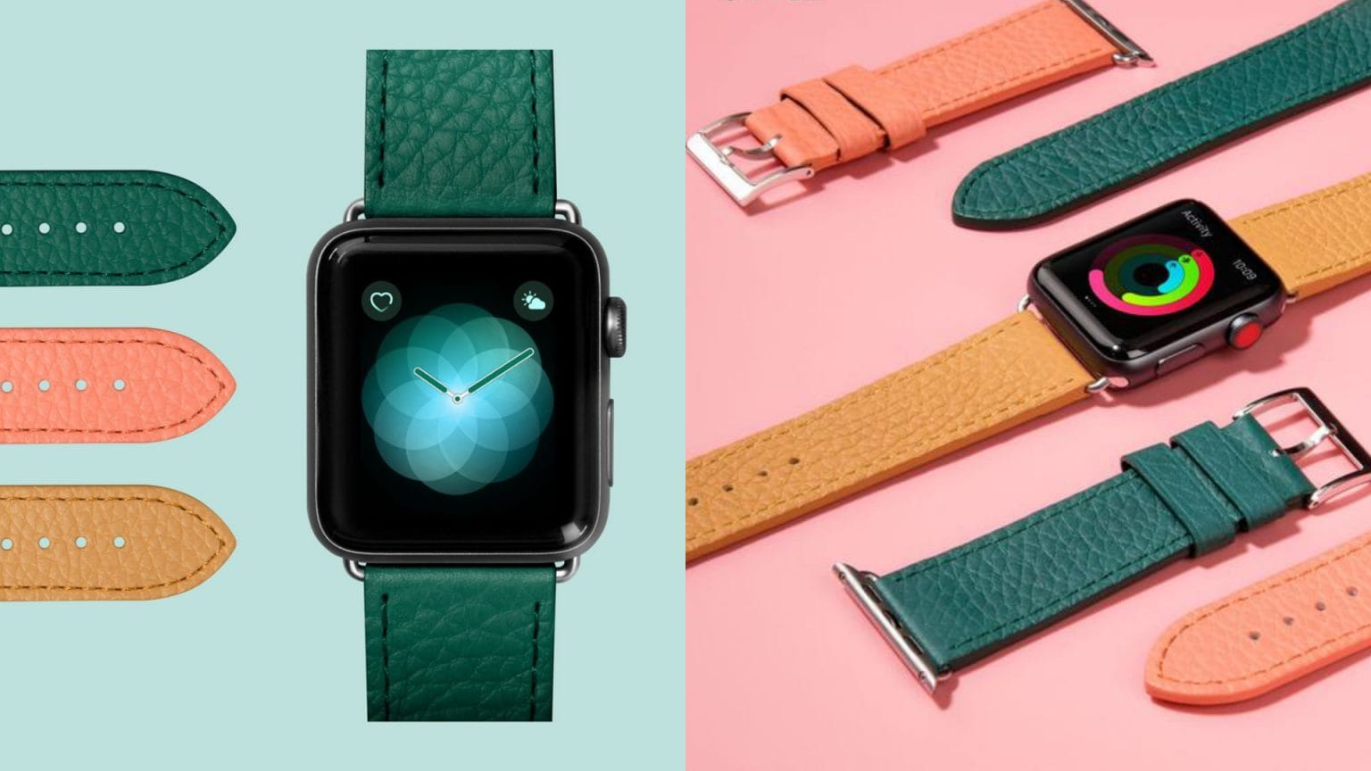 Laut Milano leather bands for Apple Watch