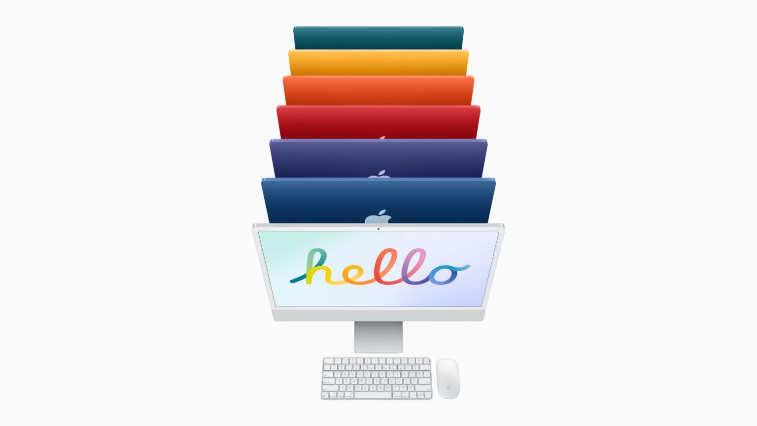 M1 iMac color options