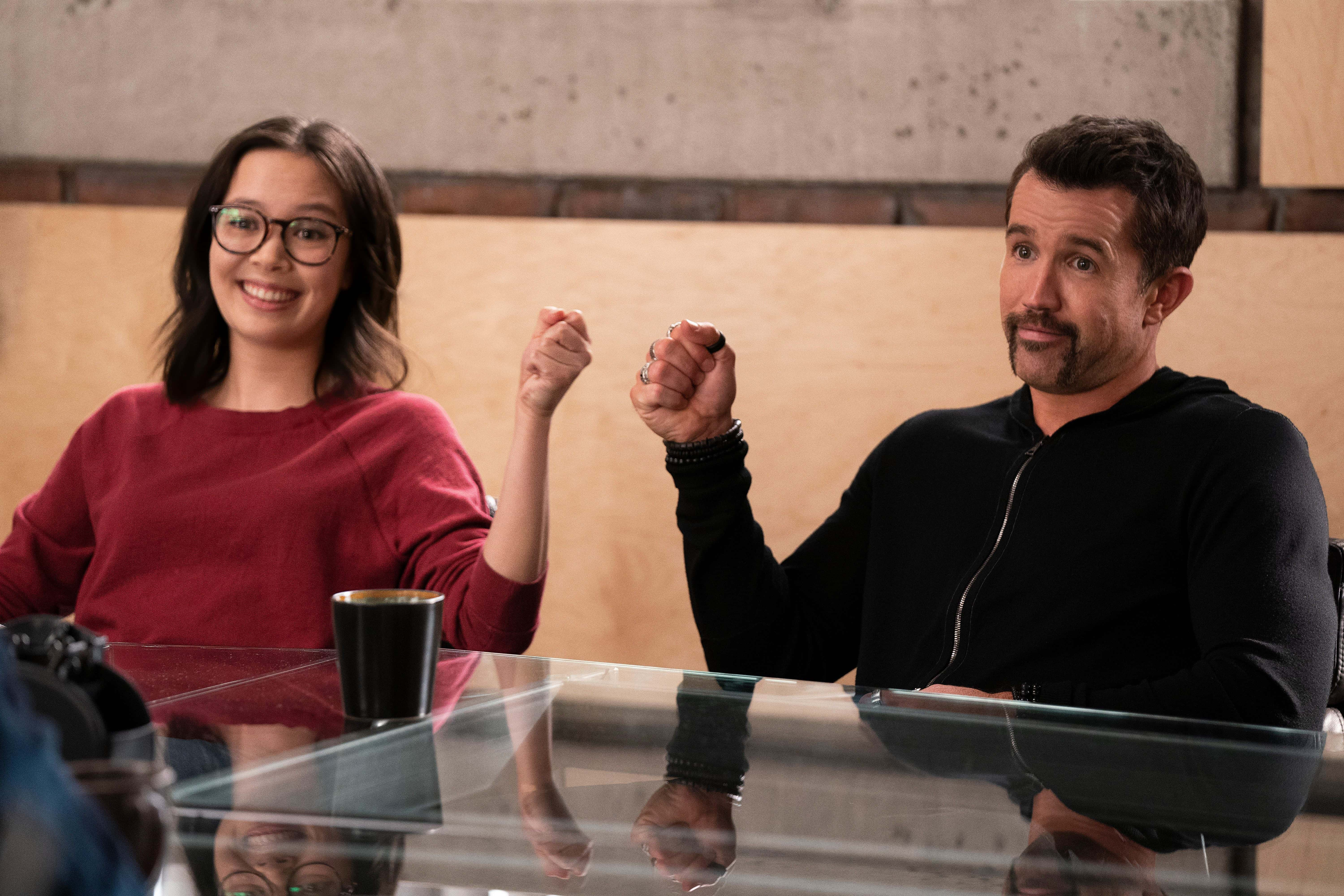 Charlotte Nicdao and Rob McElhenney are back to reboot <em>Mythic Quest</em>