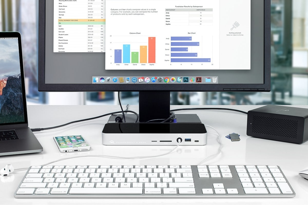 Expand the life and capability of your Mac setup with OWC Thunderbolt products.