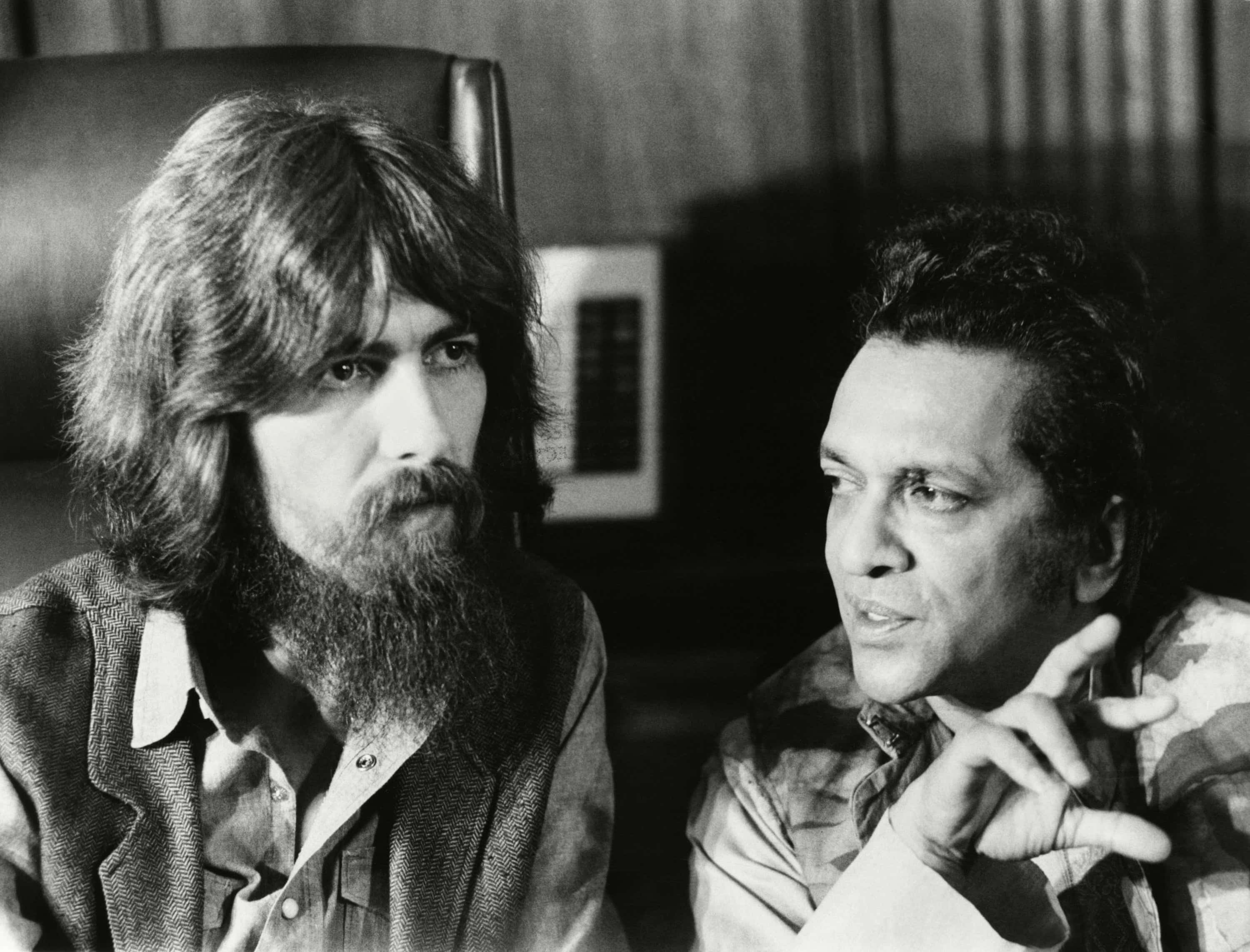 George Harrison and Ravi Shankar in <em>1971: The Year That Music Changed Everything</em>