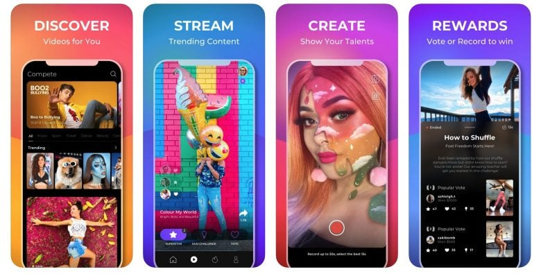 If you like TikTok but wouldn't mind getting paid for your creative clips, Compete is here for you.