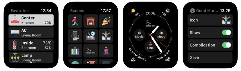 WristControl lets you take control of your HomeKit directly from your Apple Watch.