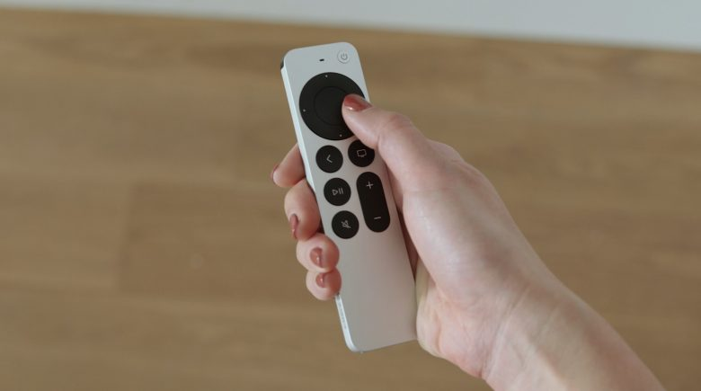 The new Siri Remote comes with exciting new input options, like a jog wheel.