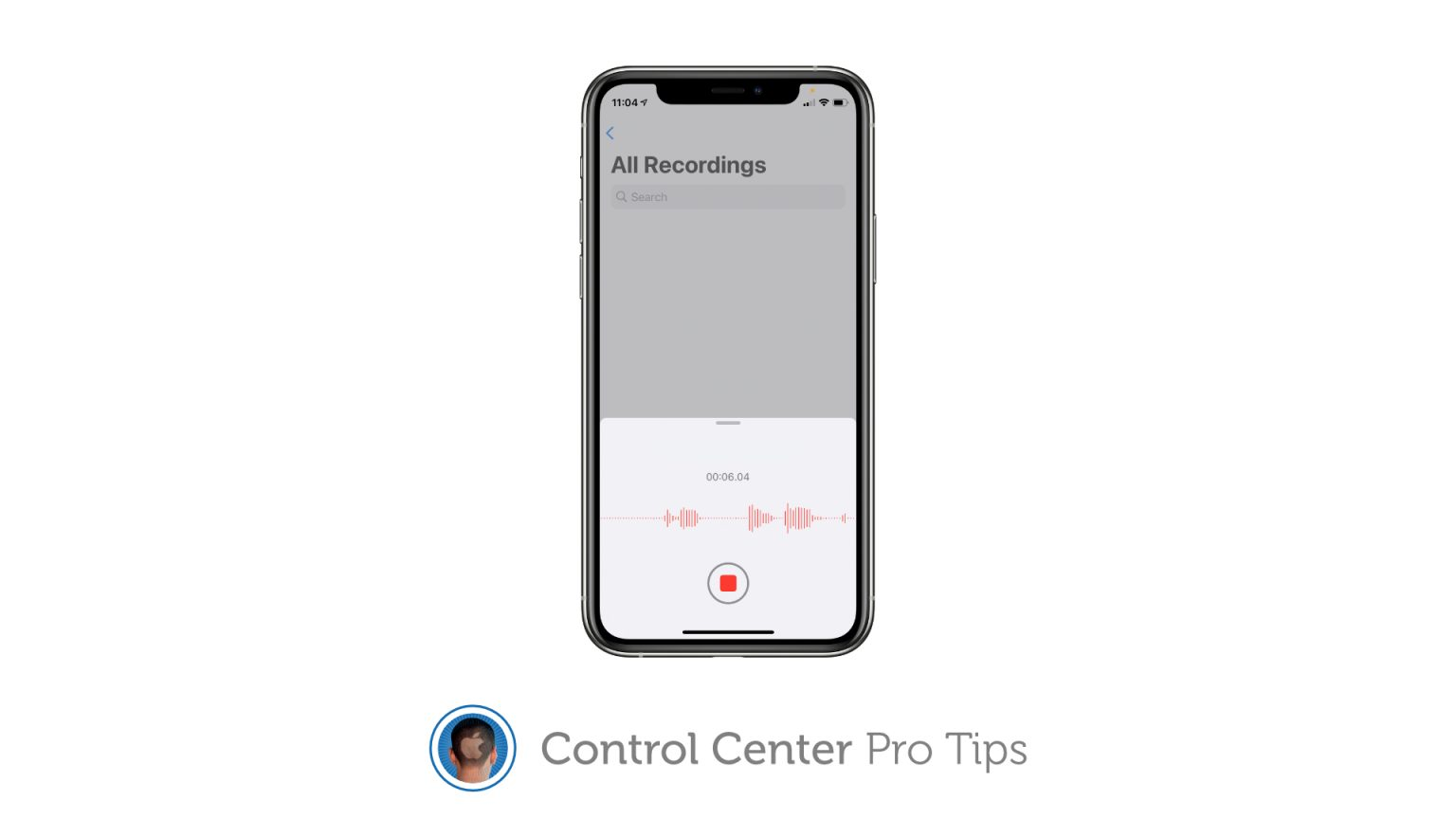 Use Voice Memos with this Control Center shortcut