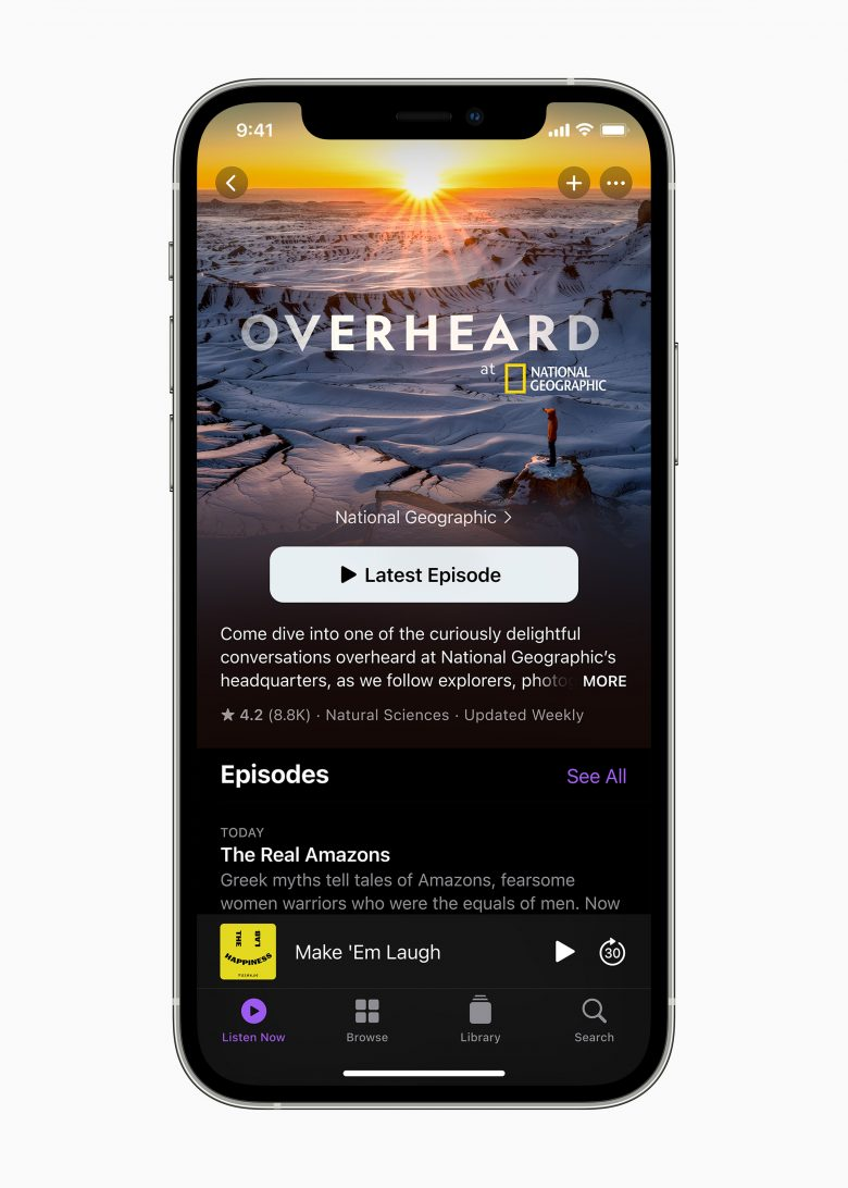 iOS 14.5 brings a long-overdue refresh to the Apple Podcasts app.