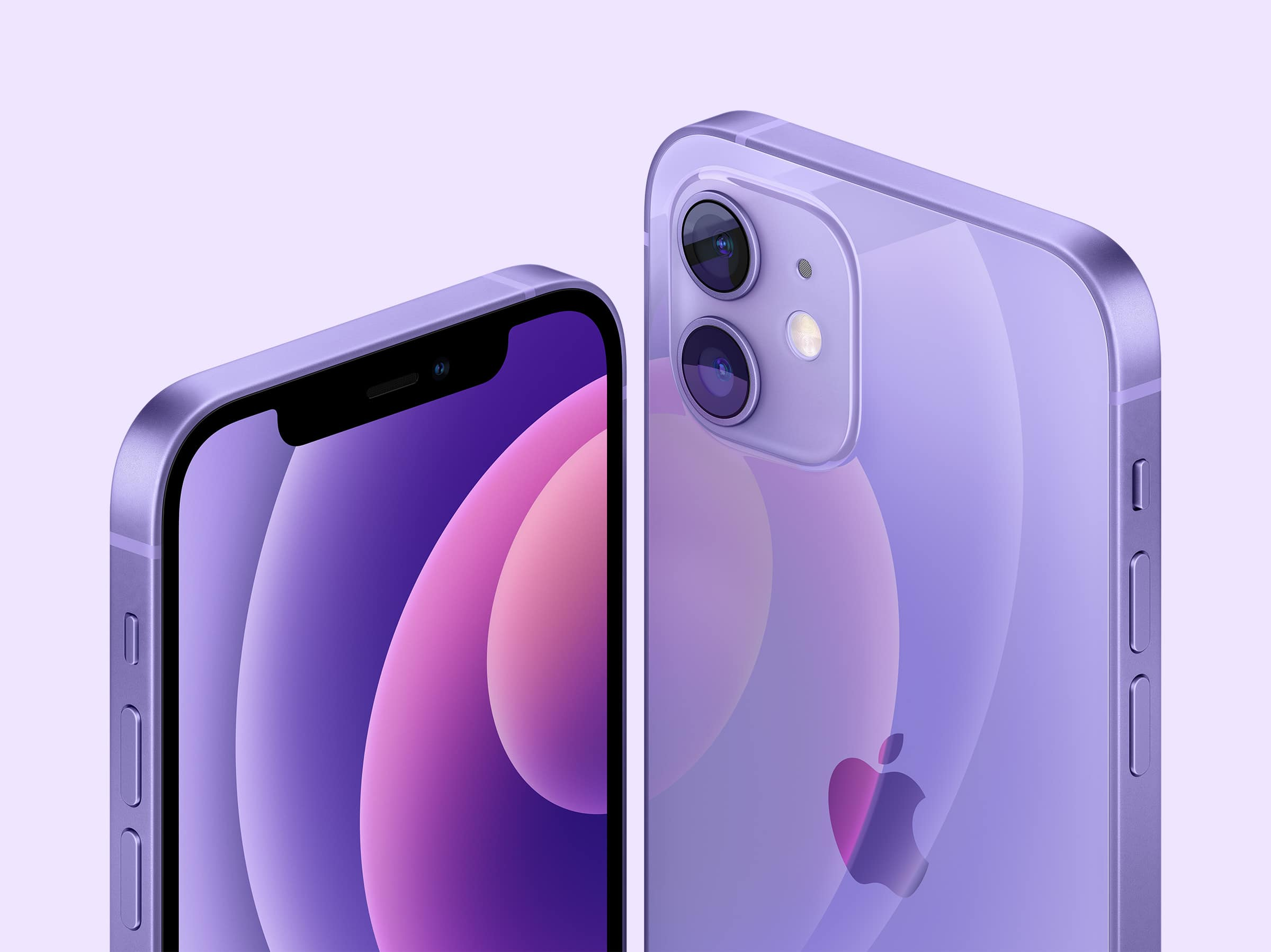 The iPhone 12 and 12 mini now come in purple