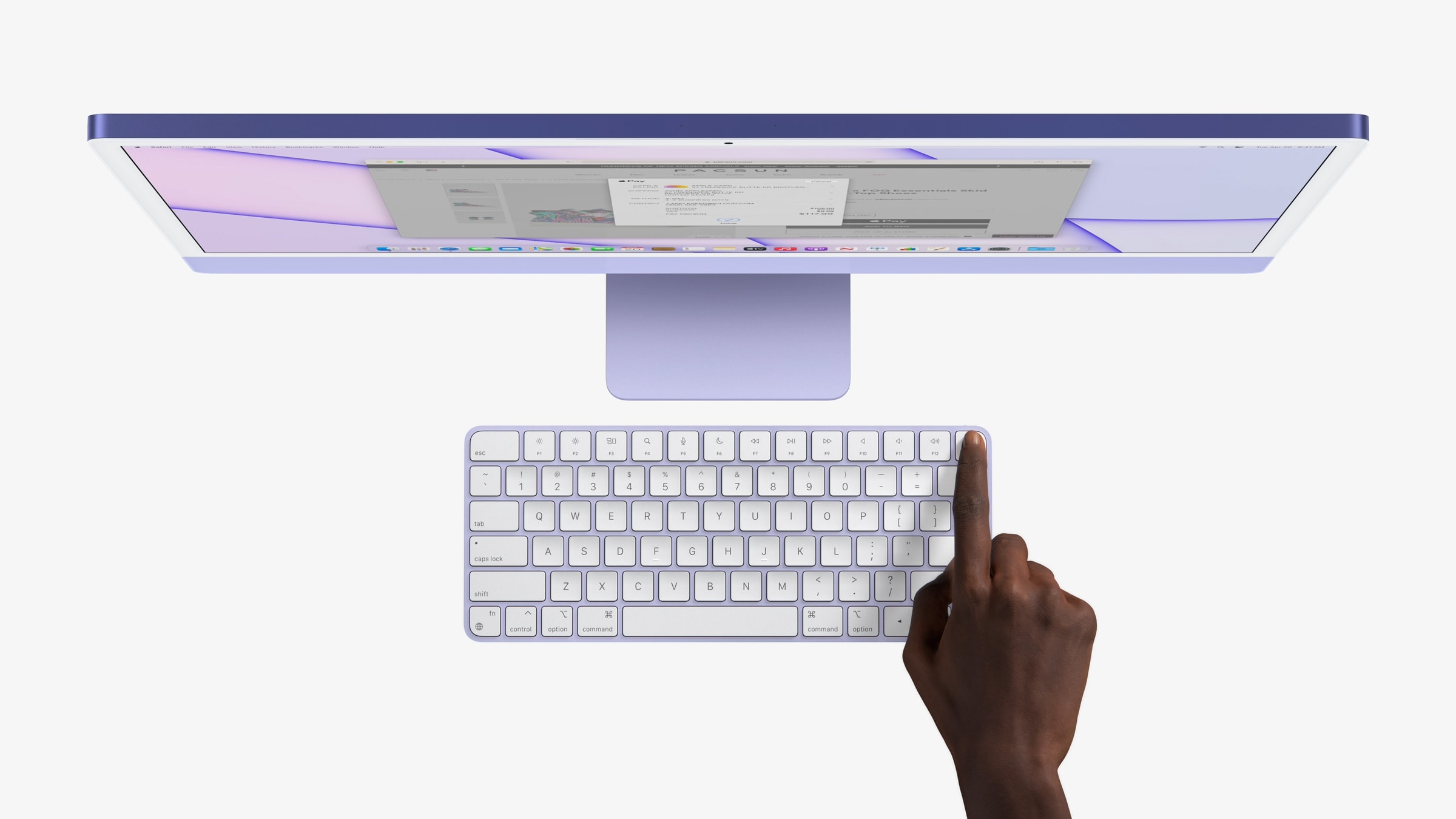 M1 iMac gets Touch ID