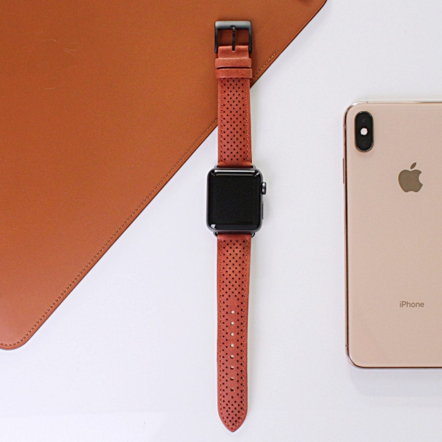 Win a classy perforated leather Apple Watch band from Monowear [Cult of Mac giveaway]
