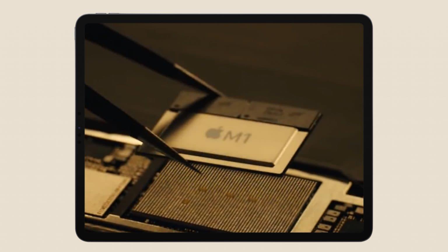 2021 iPad Pro with m1 processor