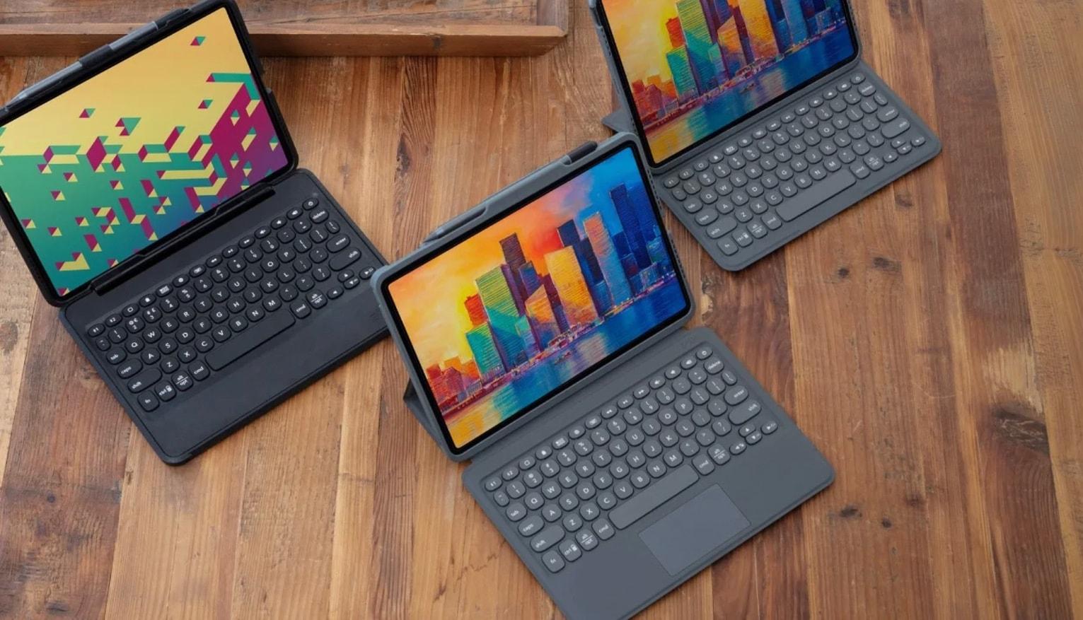 Zagg Pro Keys and Rugged Book iPad keyboard cases
