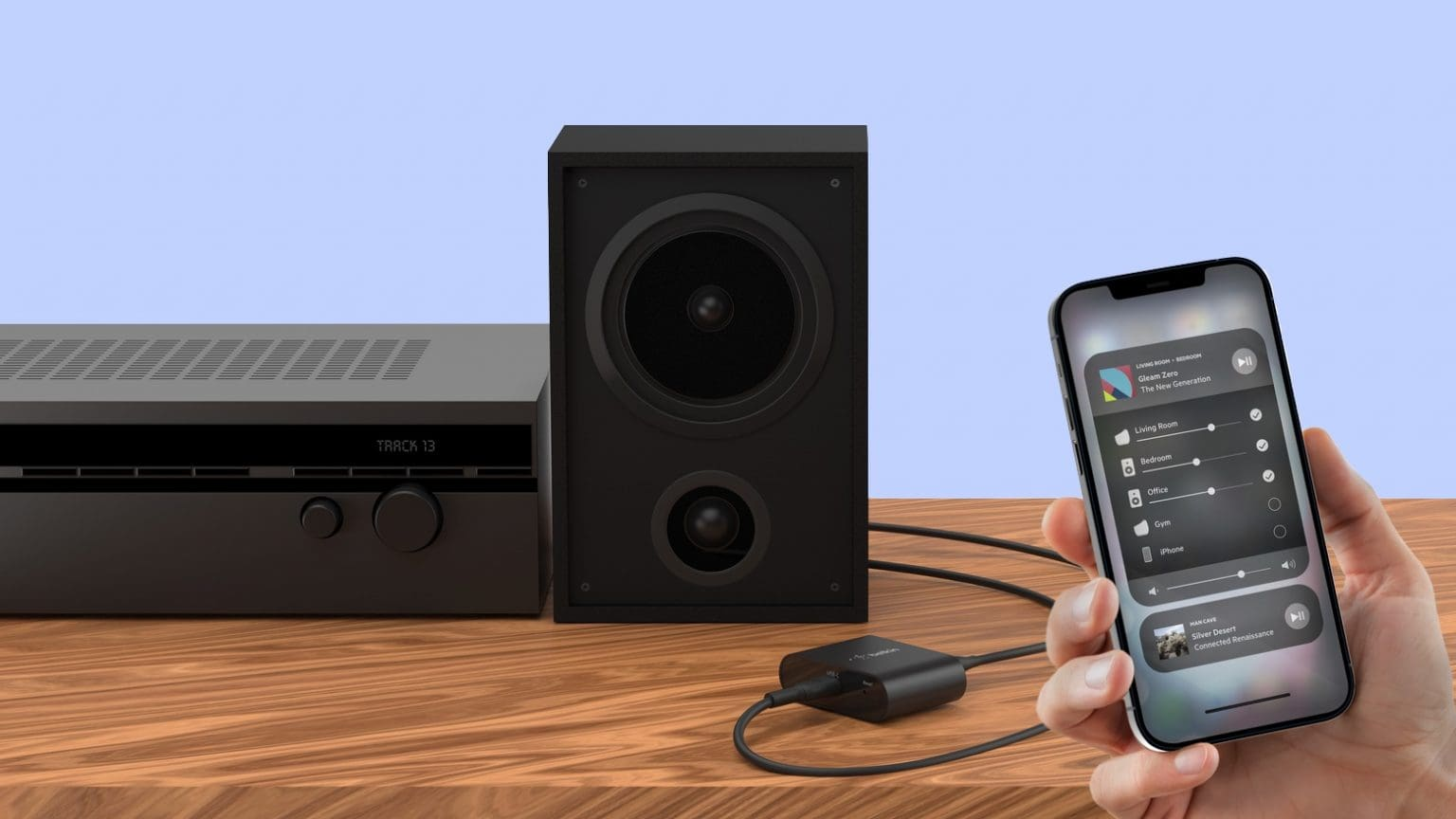 Soundform Connect brings AirPlay 2 to legacy speakers