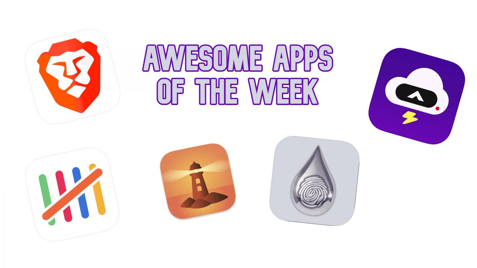 A handful of new and updated apps for your perusal.