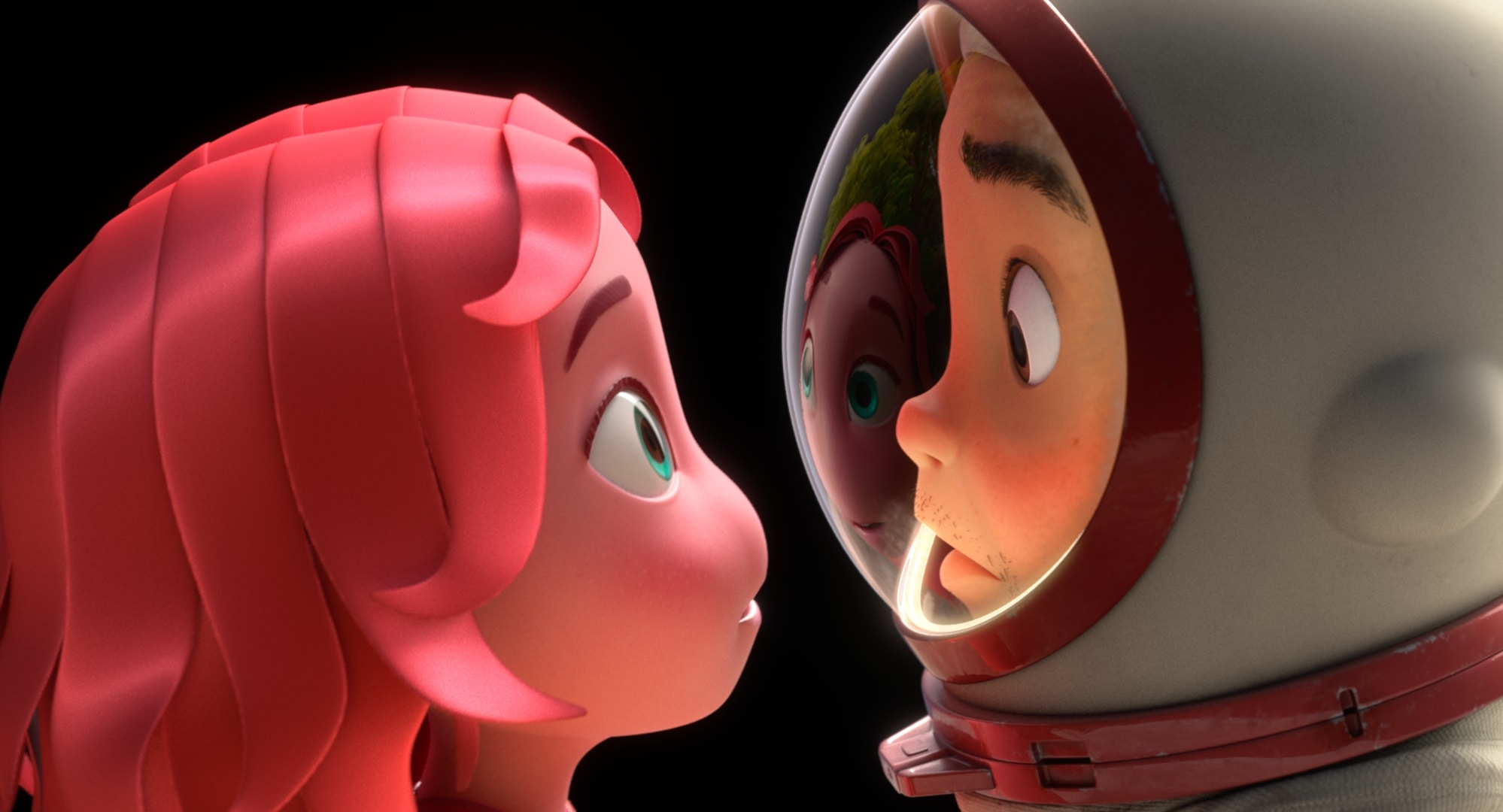 Blush review: Apple TV+'s new animated short wants to take on Pixar.