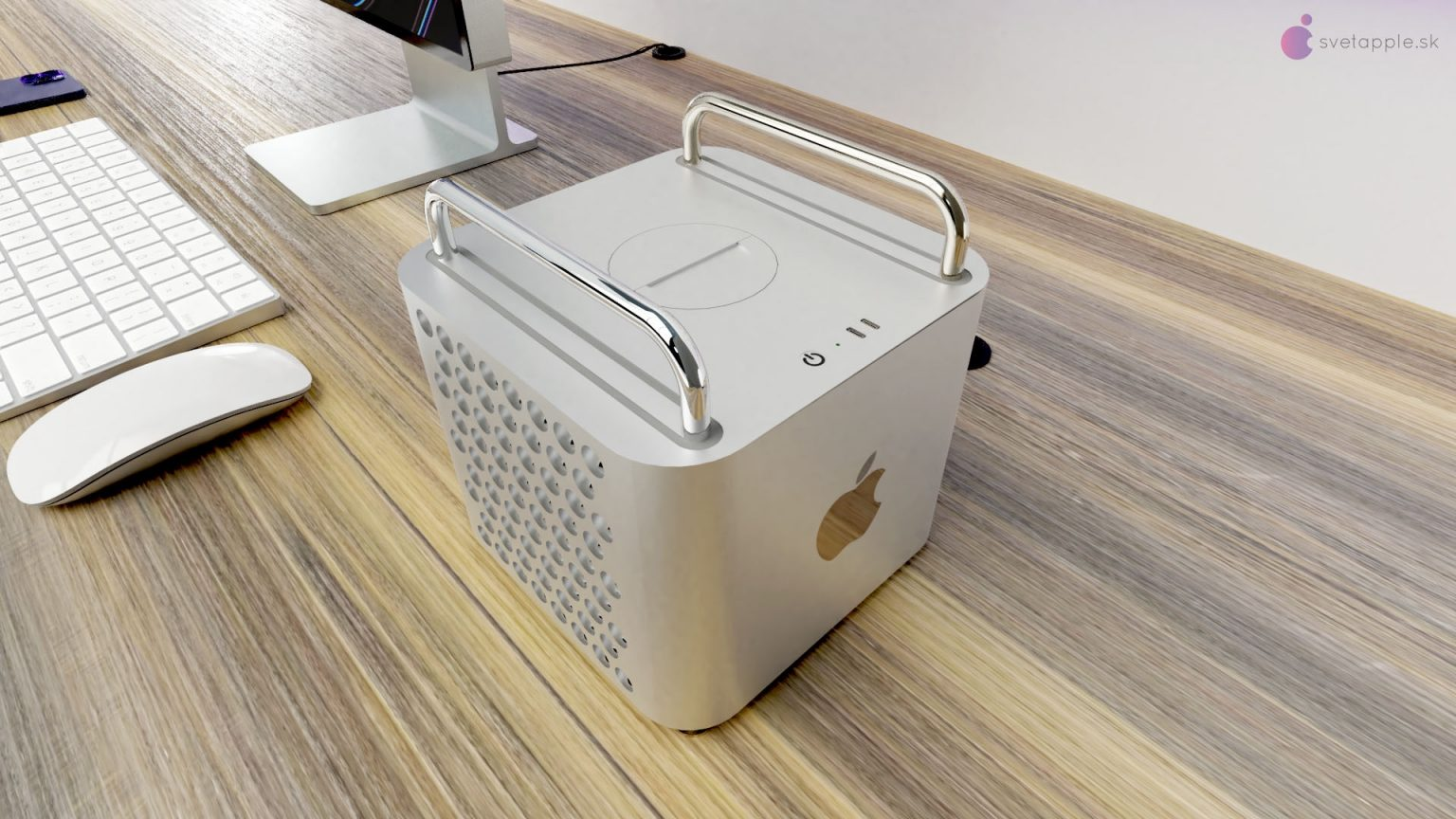 Amazing Mac Pro concept shrinks the casing but keeps the cheese grater