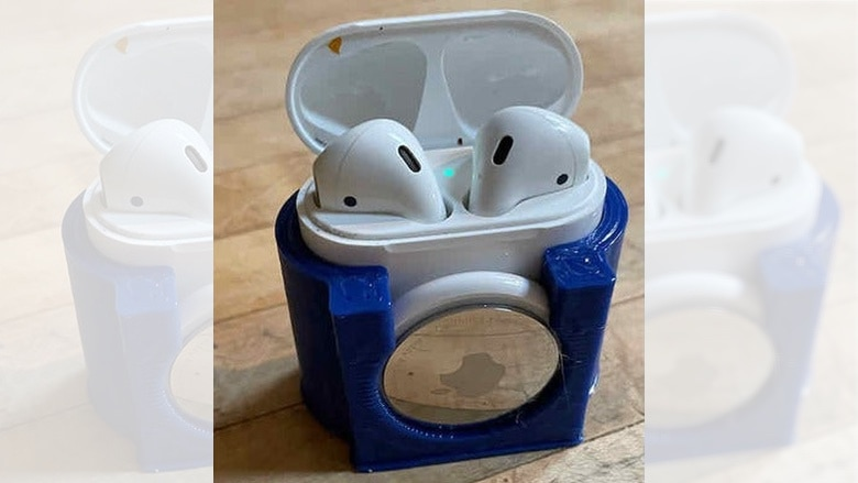 DIY AirTag holder for AirPods case