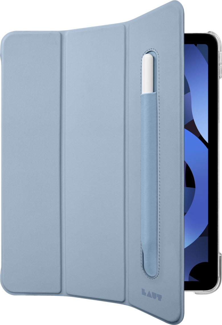 The Huex Folio for iPad Air is a lightweight, protective case with a built-in Apple Pencil holder.