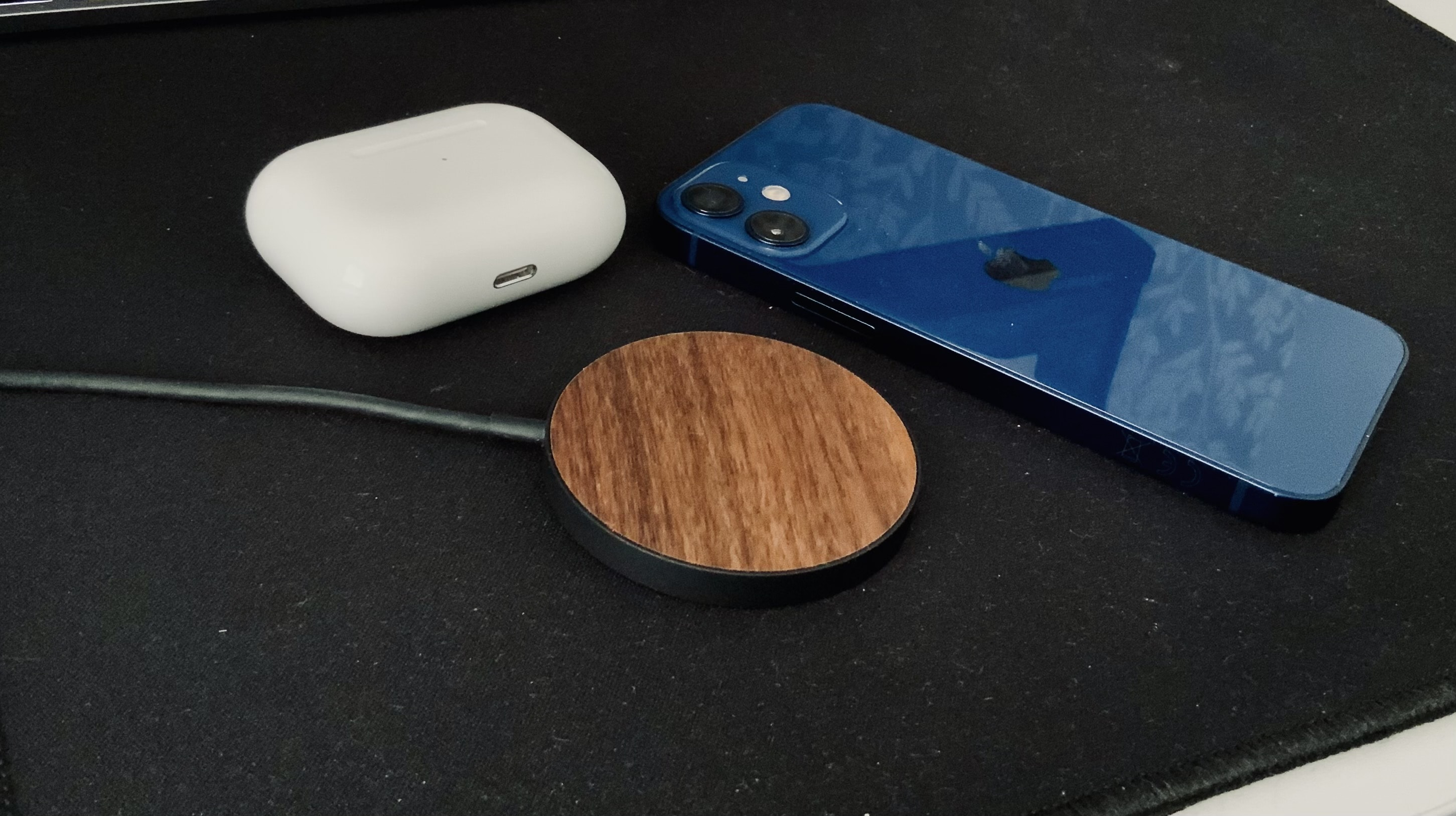Limited77 Wood MagSafe Charger for iPhone: It's compatible with any device that uses Qi charging tech —including AirPods.