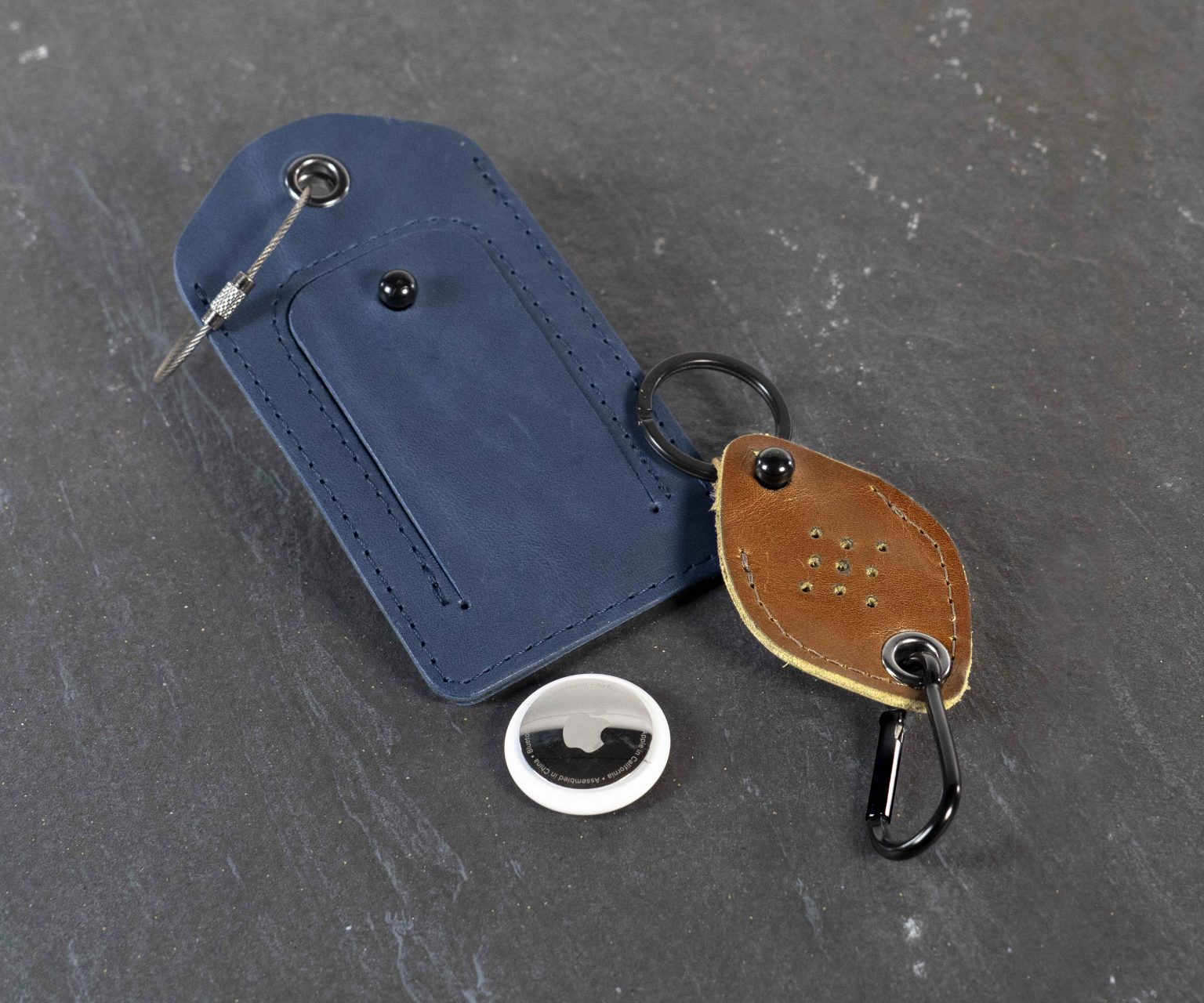 New AirTag accessories from WaterField Designs: AirTag owners just got two more options for actually using their trackers.
