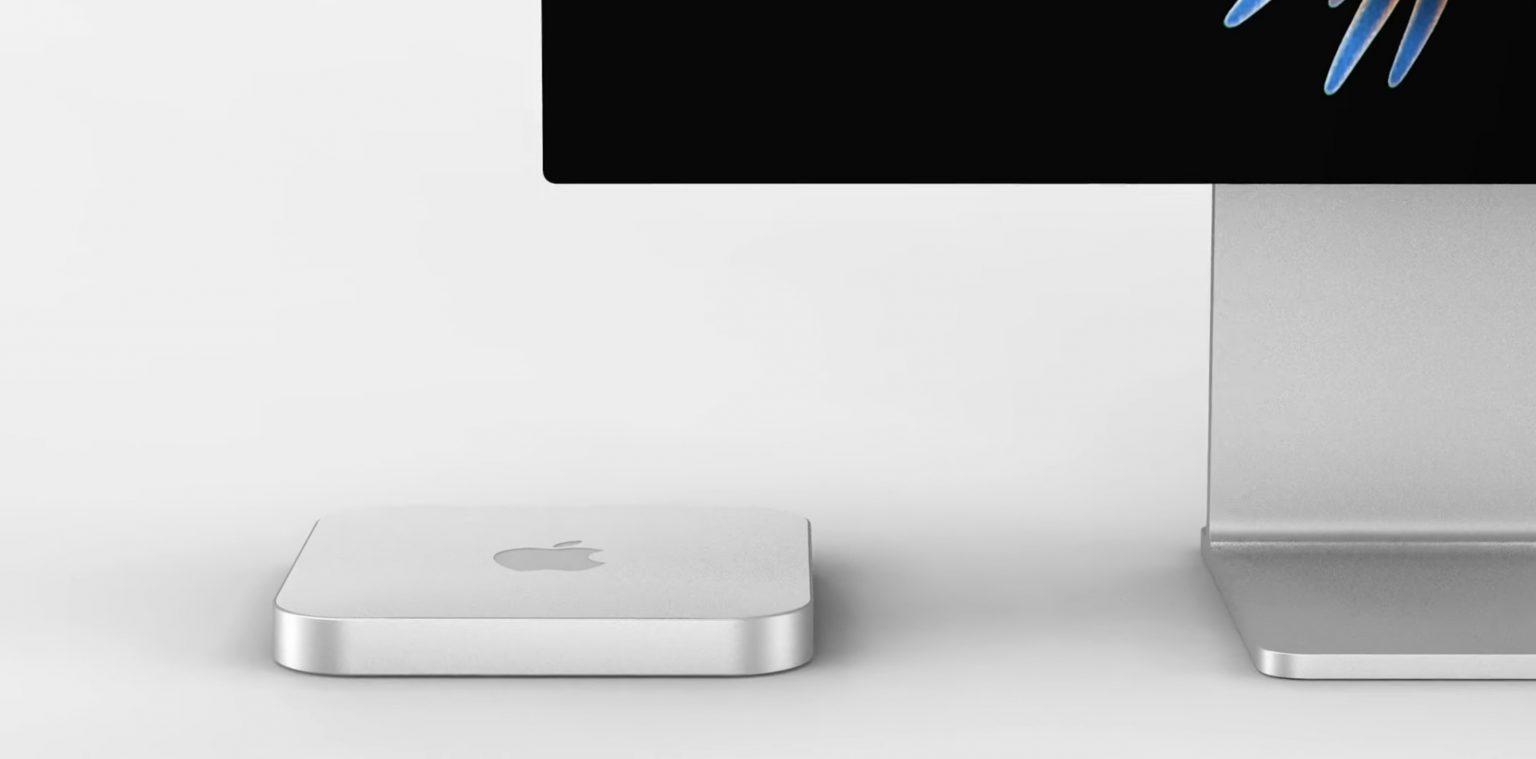 M1X Mac mini concept
