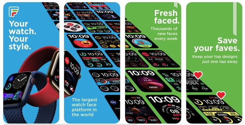 Facer adds some geeky Apple Watch faces this week.
