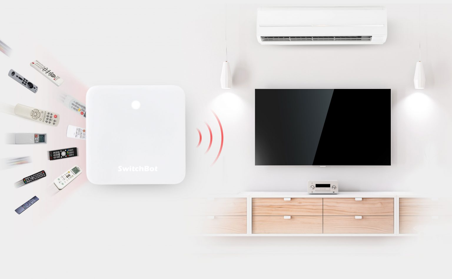 SwitchBot Hub Mini simplifies and enhances your home automation.