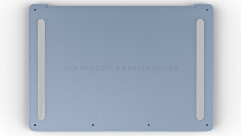 MacBook Air renders: That's a different-looking bottom.