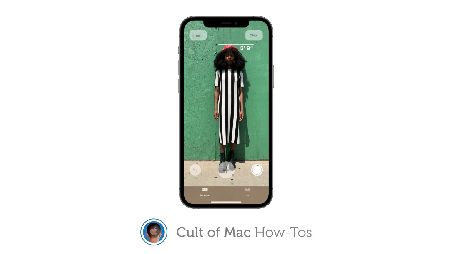 How to measure height with iPhone 12 Pro