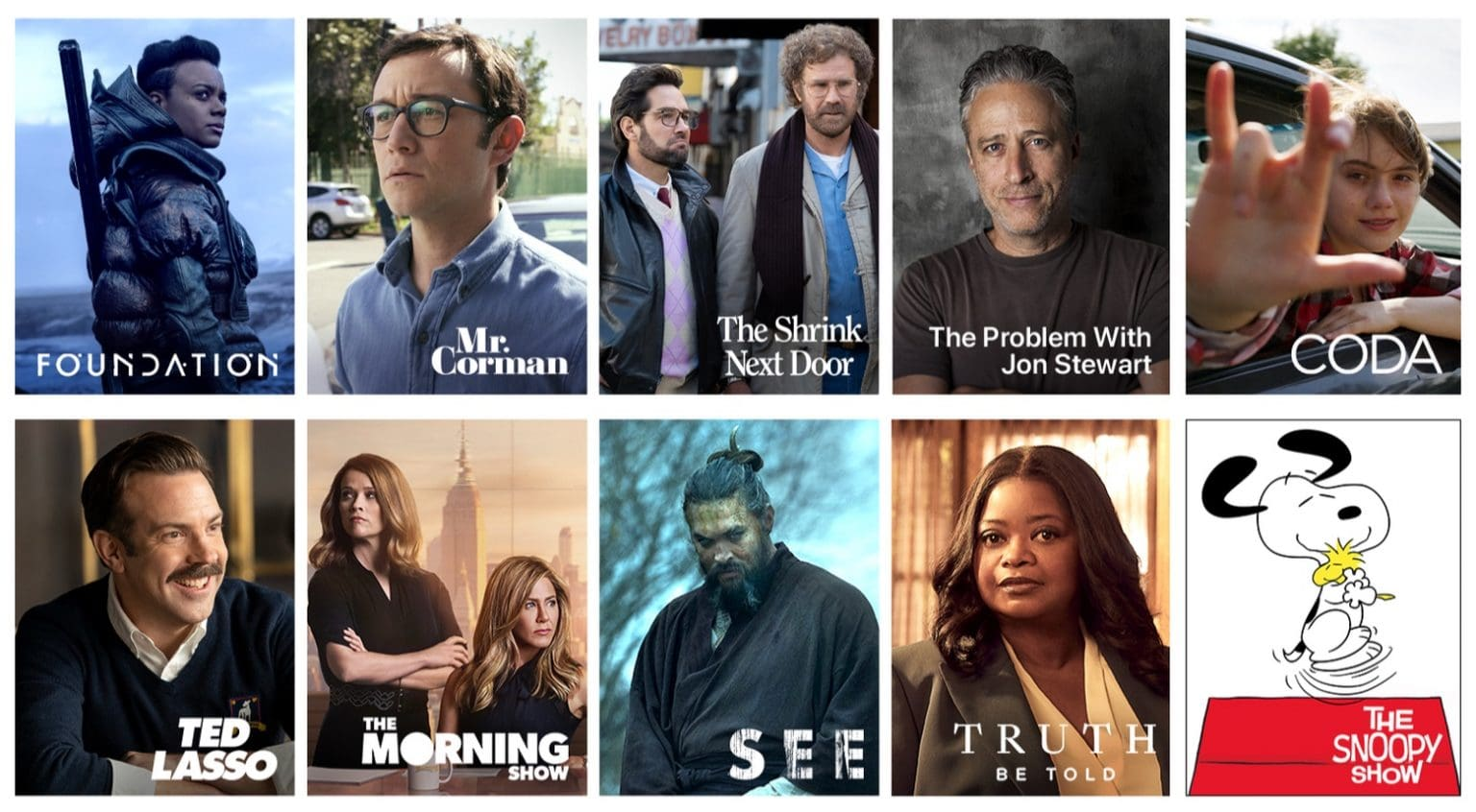 Apple TV+ Autumn 2021: Apple TV+ has some big shows coming this year.