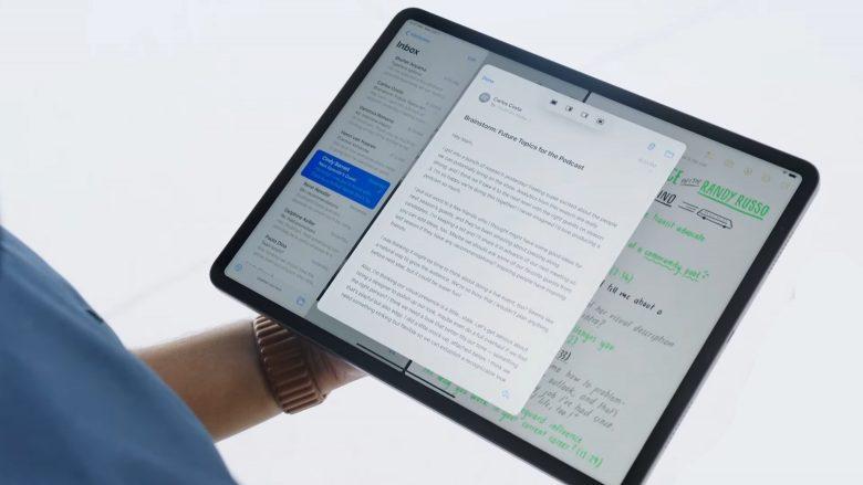 iPadOS 15 split-view multitasking