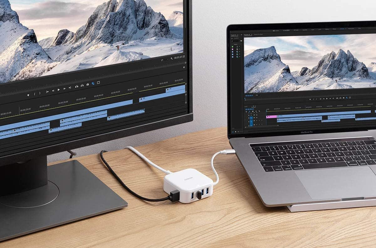 Anker 5-in-1 USB-C hub and charger