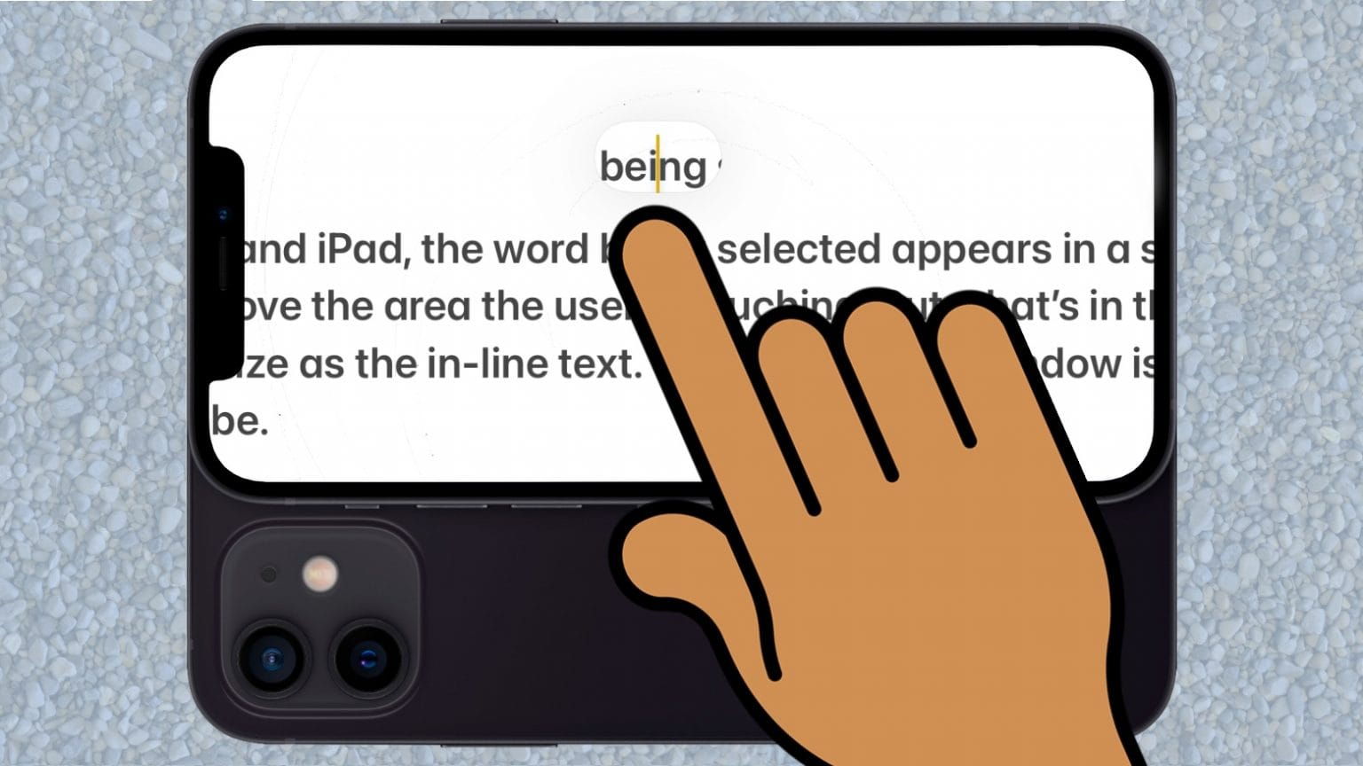 iOS 15 brings back text magnifier