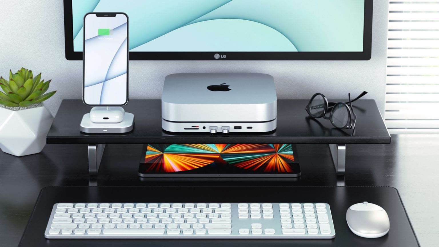 Satechi Type-C Stand & Hub for Mac Mini with SSD Enclosure