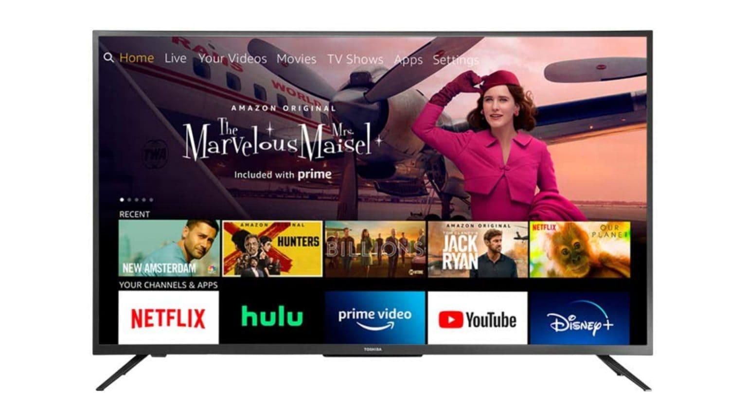 Amazon Fire TV set