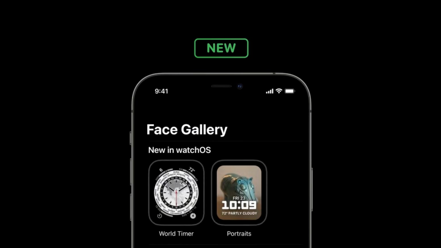 World Timer face for Apple Watch