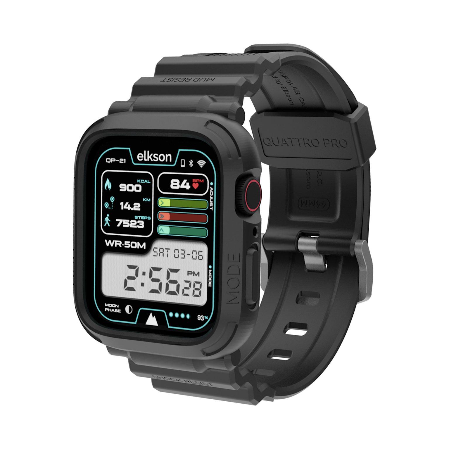 Quattro PRO Apple Watch Bumper Case
