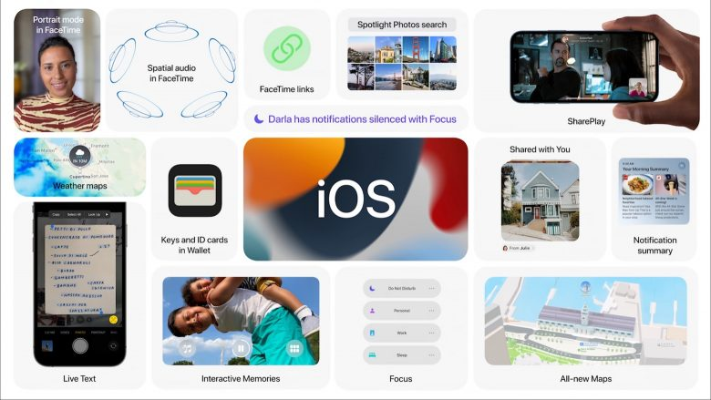 What's new in iOS 15