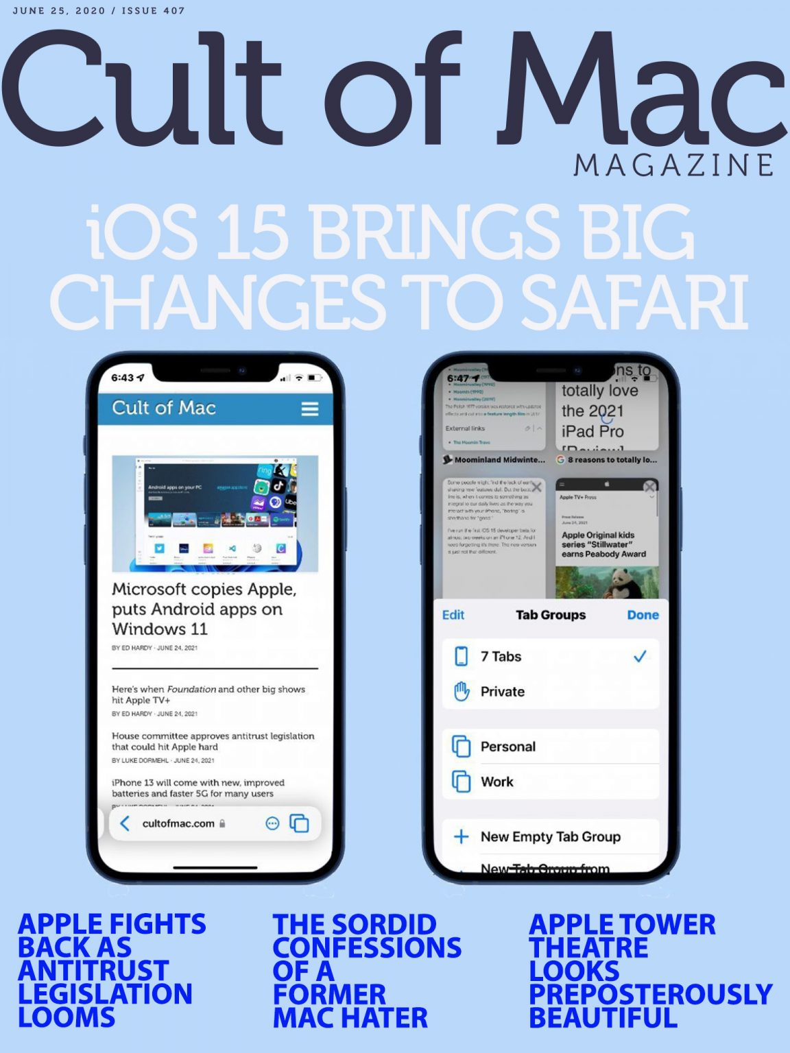 In iOS 15, Safari's Address Bar gets a new address.