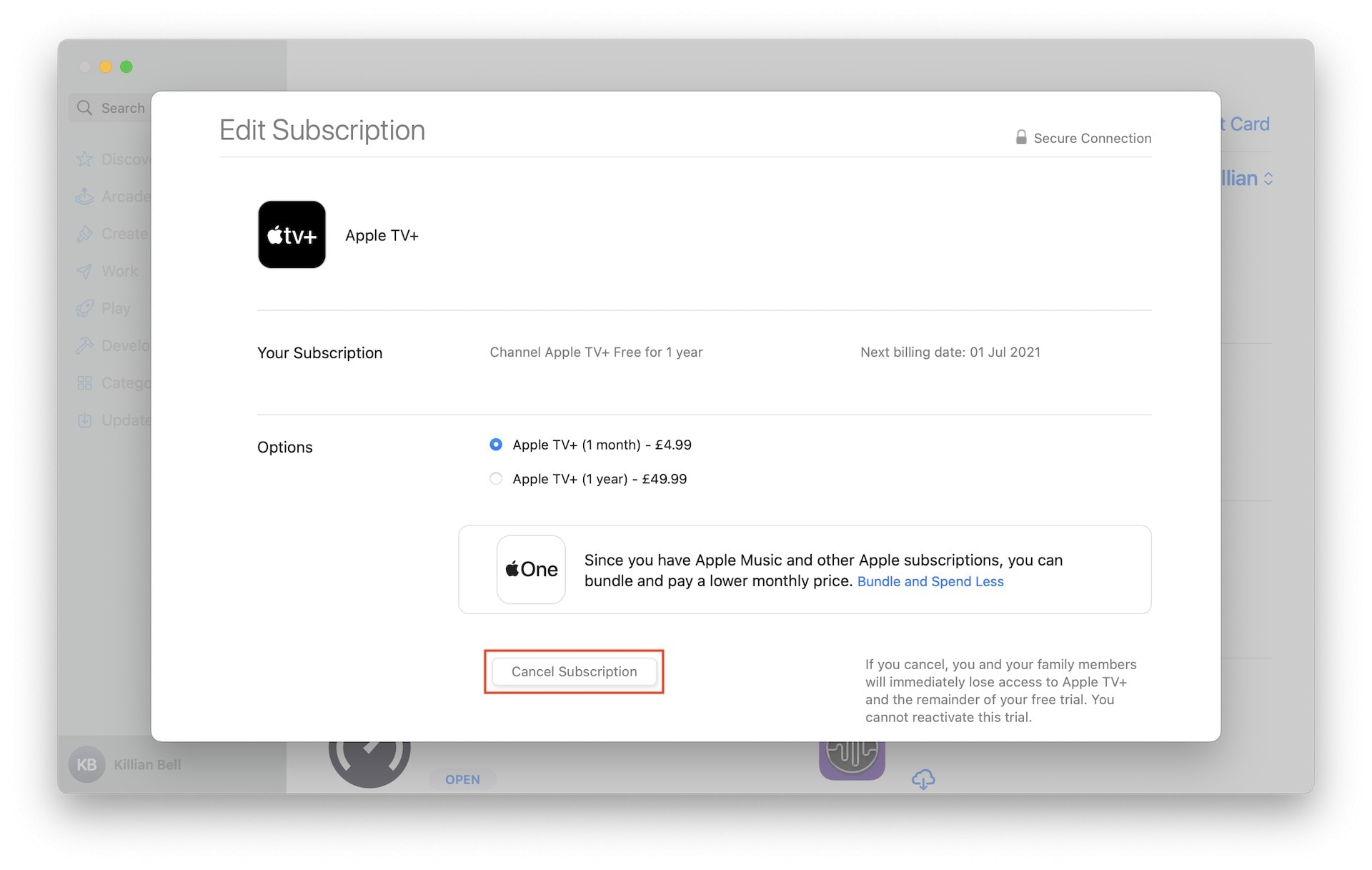 How to cancel Apple TV+ free trial