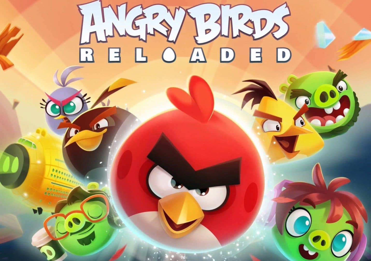 'Angry Birds Reloaded' is coming soon to Apple Arcade.