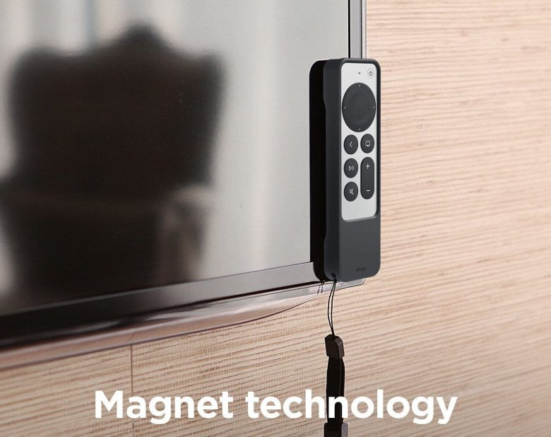 Elago 2021 Apple TV Siri Remote R1 Intelli Case: This Apple TV remote case comes with a superpower: magnets!