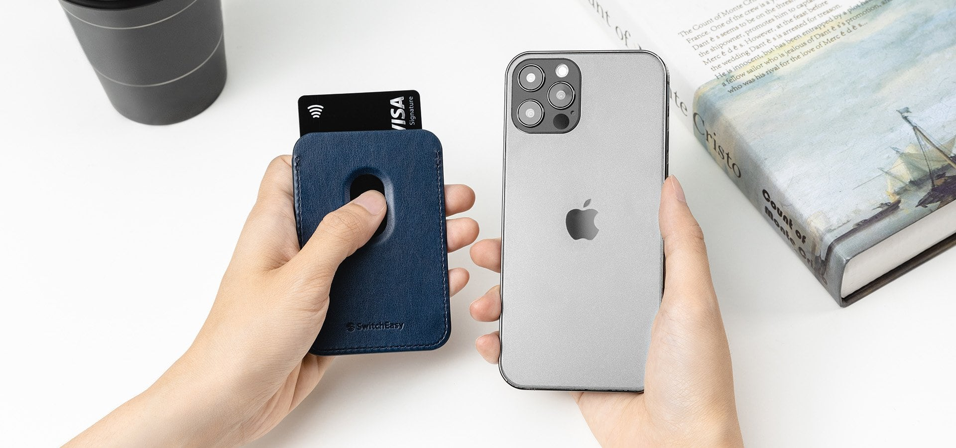 SwitchEasy MagWallet for iPhone
